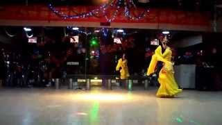 Chinese girl dancing in traditional costume (hanfu) -- 2
