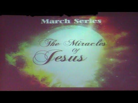 """The Miracles of Jesus"" Pt 3 Walking on Water   by Pastor Randy Vanesian"