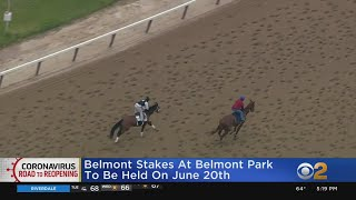 Belmont Stakes Horse Race At Belmont Park To Be Held On June 20