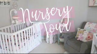 NURSERY TOUR 2017 / on a budget / DIY / inexpensive / baby girl