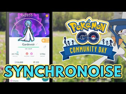 Is Synchronoise Good? | Pokemon GO Ralts Community Day Guide