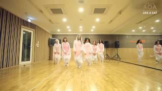王牌女神AOA - Like a Cat 舞蹈練習影片~可愛貓咪版