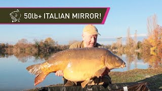 50LB+ Italian Carp! Carp Fishing With Steve Briggs