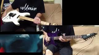 coldrain - COEXIST    (guitar cover)   途中まで弾いてみた