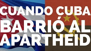 Angola: el fin del  »aparthed» sudafricano  y la libertad de Nelson Mandela