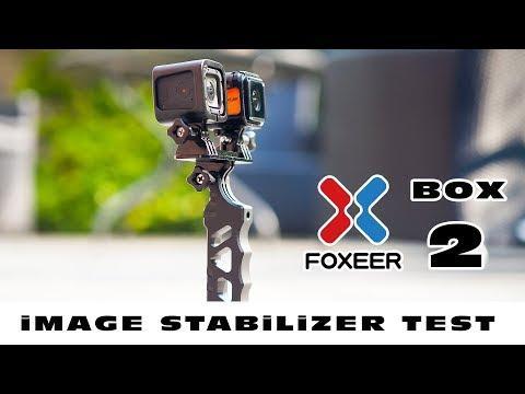 Anti-shake test of the Foxeer Box 2 - 4K Action camera :)