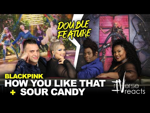 rIVerse Reacts: How You Like That + Sour Candy by BLACKPINK - Double Feature Reaction