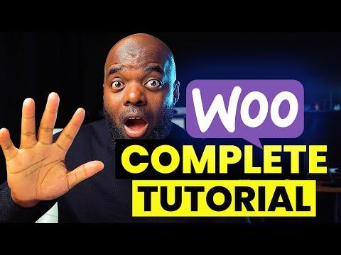Complete woocommerce tutorial | Woocommerce Divi