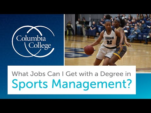 What Jobs Can I Get with a Degree in Sports Management?