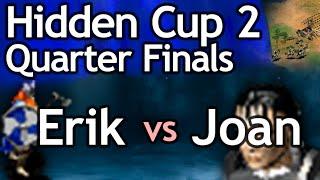 AoE2 Hidden Cup #2 | Erik The Red Vs Joan Of Arc! Quarterfinal #3