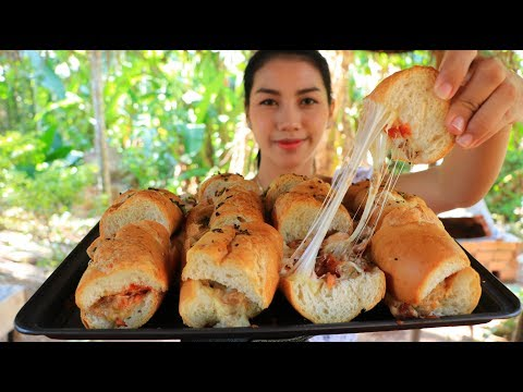 Yummy cooking bread cheese recipe - Natural Life TV Cooking