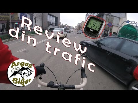 Ciclocomputer Crivit - Review din trafic