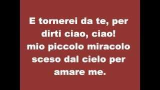 **TESTO** Tiziano Ferro - Per Dirti Ciao!