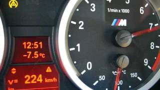 preview picture of video 'BMW M3/E92 G-POWER SK 2 Supercharger 0 to over 200 km/h'