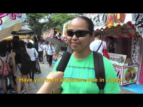 Travelers' Voice of Kyoto:FUSHIMI INARI Area Interview 005