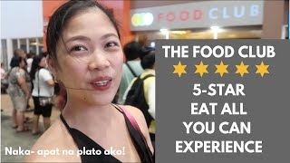 VLOG# 45 The Food Club Dining Experience| Taglish