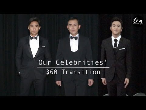 Our Celebrities' 360 Transition: (Pre-Show VS Show Ready)