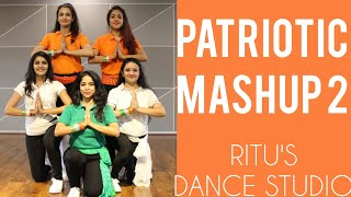 #PATRIOTICDANCE/ ONE INDIA MASH UP 2/26 JANUARY SONGS/ RITU DANCE STUDIO