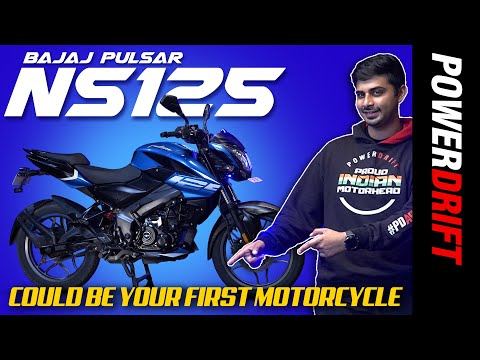 2021 Bajaj NS125 | Could Be Your First Motorcycle | PowerDrift