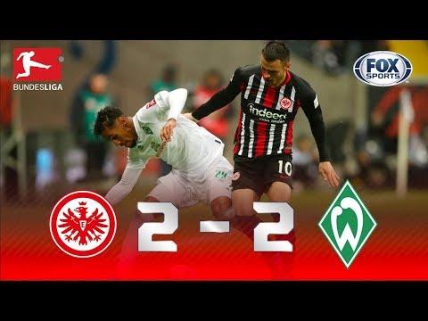 EMOÇÃO ATÉ O FIM! Lances de Frankfurt e Werder Bremen pela Bundesliga