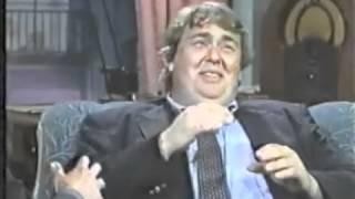 John Candy @ Bob Costas, 1989
