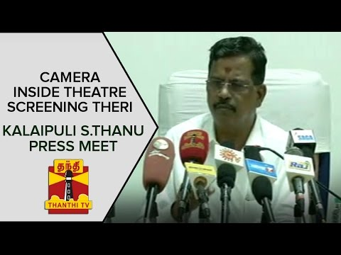 Camera-inside-Theatre-screening-Theri--Kalaipuli-S-Thanu-Press-Meet-on-Controversy
