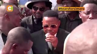 Lutumba Simaro Laid To Rest At Necropole Cemetary, Kinshasa