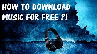 Hoe GRATIS Muziek Downloaden ?!