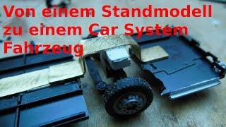 Umbau/Bauanleitung Brekina MB O305 Zu Einem Car System Fahrzeug Teil 1