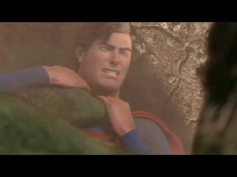 Có bác nào xem trận đánh nhau giữa superman vs hulk chưa đây là p3 nha