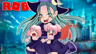 The Evil Witch Stole Twin Baby Mermaids In Roblox Bloxburg!