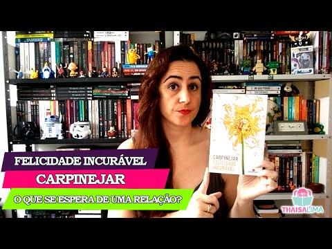 O que se espera de uma relação? Crônica de Carpinejar (Felicidade Incurável) || Thaisa Lima