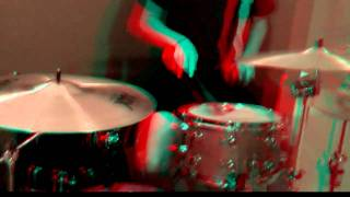 3D Video Drums in 3D - #1 3D movie