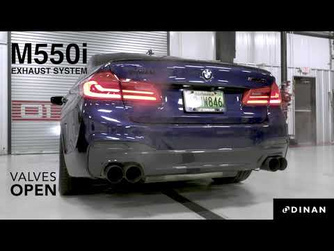 Dinan G30 M550i Full Exhaust (X-Pipe & Axle-Back) - Sound Clip