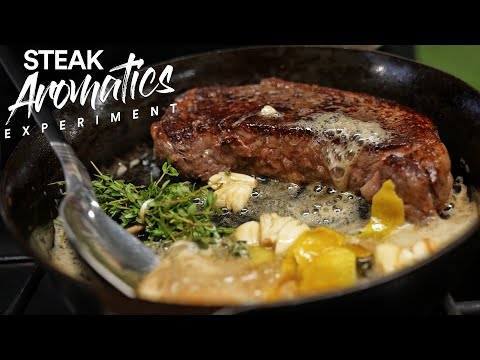Ooo: Steak AROMATICS combination, Eye OPENING!