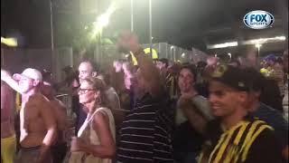 VEJA A SAIDA DA TORCIDA DO PEÑAROL APÓS VITÓRIA SOBRE O FLAMENGO!