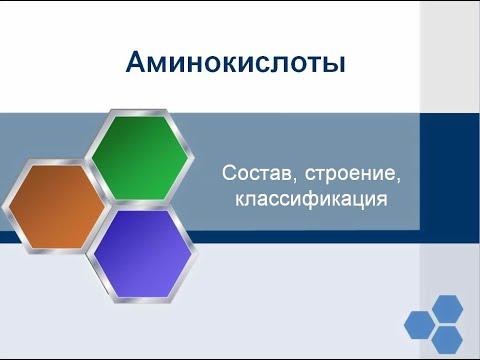 Аминокислоты  Состав, строение, классификация