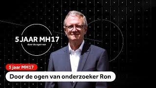 MH17: Onderzoeker Ron Smits verzamelde wrakstukken op de rampplek in Oost-Oekraïne