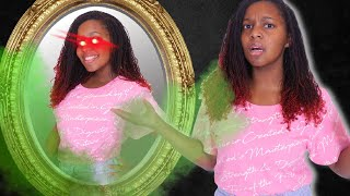 MYSTERIOUS GIRL IN THE MIRROR - Onyx Family