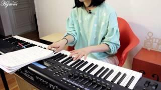 [진송건반강의]내진정사모하는_찬송가88장_피아노 이요은_Keyboard Tutorial[Lesson]_by eumsmusic