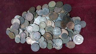 Антиквариат. Чистка монет, копанины.