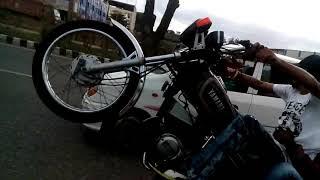 Rx 100 stunt video for WhatsApp status