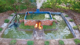 Build Swimming Pool Underground (For the winter & Summer )
