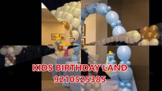 Kids 1st Birthday Theme Party Planner & Organizer In Delhi | Noida