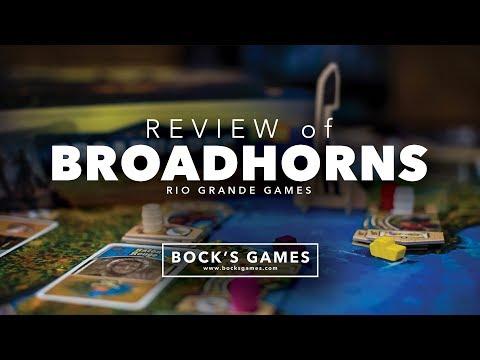 Bock's Games Review: Broadhorns