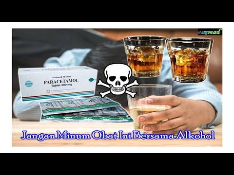 Video Obat yang tidak boleh dikonsumsi bersama dengan alkohol