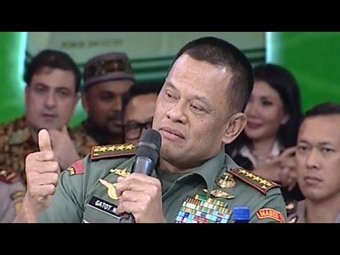 Ditanya Apa Jokowi Bekingi Ahok? Ini Jawaban Panglima TNI