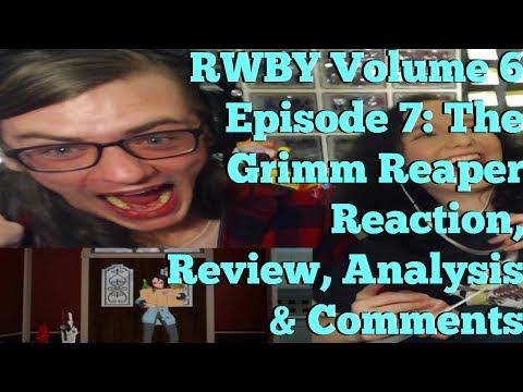 The Grimm Reaper: RWBY Volume 6 Episode 7 Discussion - смотреть
