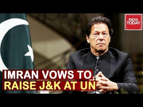 Imran Khan Vows To Raise Kashmir Issue At Un, India Warns Pakistan