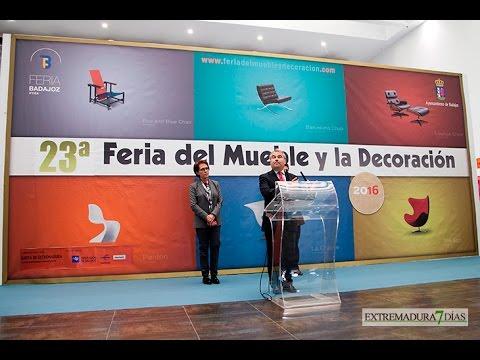 INAUGURADA LA 23ª FERIA DEL MUEBLE Y DECORACIÓN